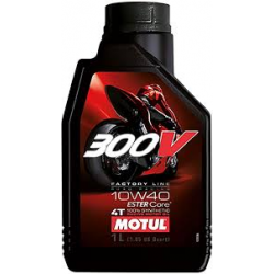 OLIO MOTUL 300 FL ROAD RACING 10W40 LT 1