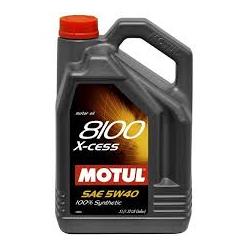 OLIO MOTUL 8100 5W40 LT.5